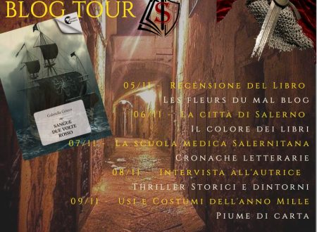 "Blog Tour ""Sangue due volte rosso"" – Intervista a Gabriella Grieco"